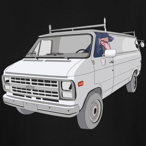 1986 Van and Dog