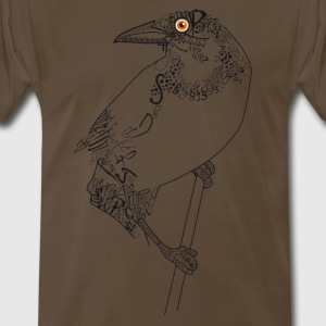 Bird_schwarz T-Shirts - Men's Premium T-Shirt