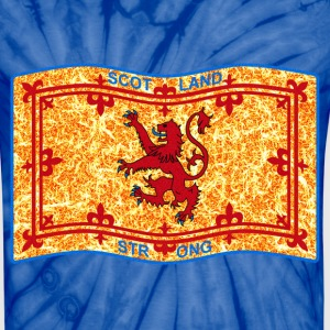 SCOTLAND STRONG LION  - Unisex Tie Dye T-Shirt