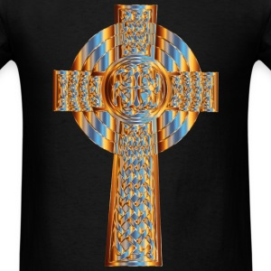Celtic Cross - Men's T-Shirt