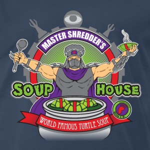 Shredder's Soup House - Men's Premium T-Shirt