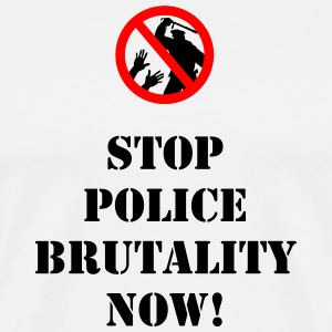 Police Brutality T-Shirts - Men's Premium T-Shirt