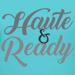 Haute&Ready T-Shirts - Women's V-Neck T-Shirt