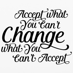 Accept what you can't change change what you can't Phone & Tablet Cases - iPhone 6/6s Rubber Case