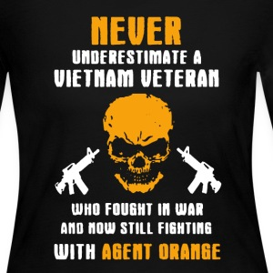 Vietnam Veteran Shirt - Women's Long Sleeve Jersey T-Shirt
