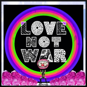 Love, not war! - Men's T-Shirt