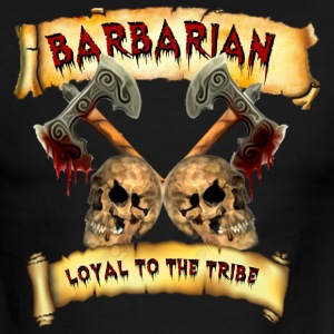 Barbarian    Loyal to the Tribe T-Shirts - Men's Ringer T-Shirt