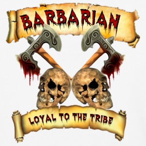 Barbarian    Loyal to the Tribe T-Shirts - Baseball T-Shirt