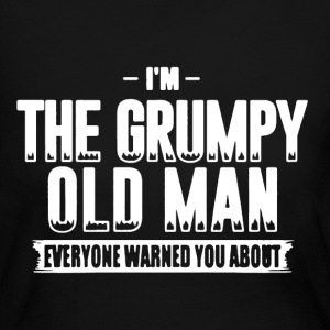 Grumpy Old Man Shirt - Women's Long Sleeve Jersey T-Shirt