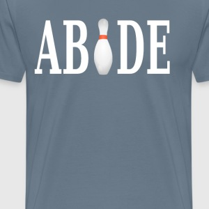 The Big Lebowski - Abide - Men's Premium T-Shirt