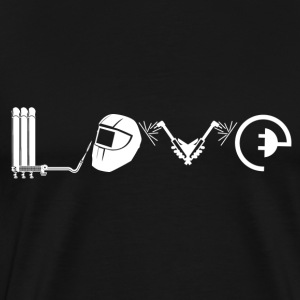 Love Welder Shirt - Men's Premium T-Shirt