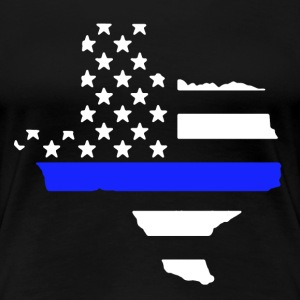 Texas Thin Blue Line - Women's Premium T-Shirt