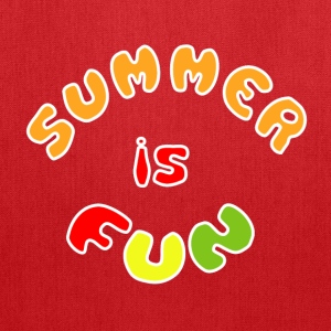 Summer is fun Bags & backpacks - Tote Bag