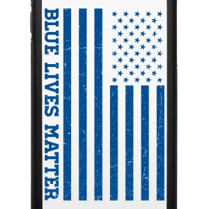 Blue Lives Matter - Flag Phone & Tablet Cases - iPhone 6/6s Rubber Case