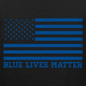 Blue Lives Matter - Flag Sportswear - Men's Premium Tank