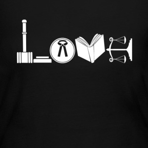 Love Lawyer Shirt - Women's Long Sleeve Jersey T-Shirt