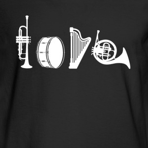 Love Music Teacher Shirt - Men's Long Sleeve T-Shirt