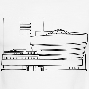 Guggenheim Museum New York - Men's Ringer T-Shirt