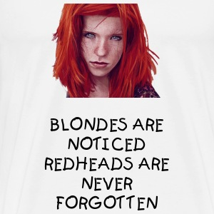 Redheads v Blondies - Men's Premium T-Shirt