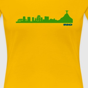 Rio Skyline - Women's Premium T-Shirt