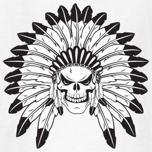 Indian Skull Chief Kids' Shirts - Kids' T-Shirt