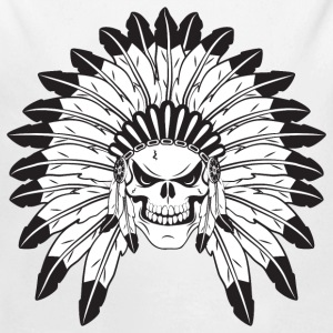 Indian Skull Chief Long Sleeve Shirts - Long Sleeve Baby Bodysuit