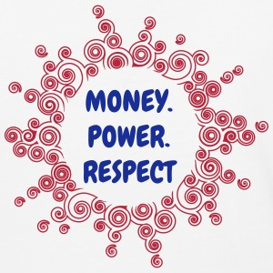 Money Power Respect - Baseball T-Shirt