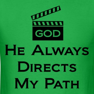 Directs My Path Design For Men - Men's T-Shirt