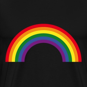 Rainbow / Arc-En-Ciel / Arcoíris (6 Colors) T-Shirts - Men's Premium T-Shirt