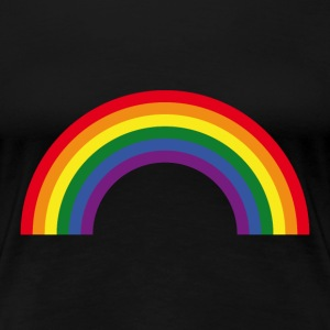Rainbow / Arc-En-Ciel / Arcoíris (6 Colors) T-Shirts - Women's Premium T-Shirt