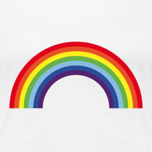 Rainbow / Arc-En-Ciel / Arcoíris (7 Colors) T-Shirts - Women's Premium T-Shirt