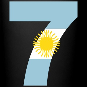 Argentinia Numbers, 7, Jersey Numbers Argentinia Mugs & Drinkware - Full Color Mug