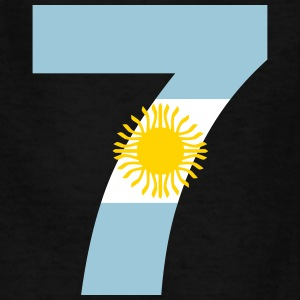 Argentinia Numbers, 7, Jersey Numbers Argentinia Kids' Shirts - Kids' T-Shirt