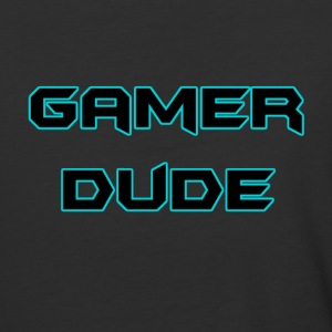 Gamer Dude Baseball T-Shirt - Baseball T-Shirt