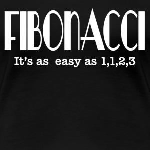 FIBONACCI IT'S EASY T-Shirts - Women's Premium T-Shirt