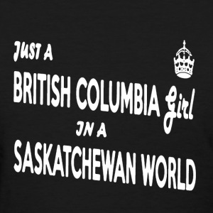 British Columbia Girl  - Women's T-Shirt