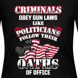 Oaths Of Office Shirt - Women's Long Sleeve Jersey T-Shirt