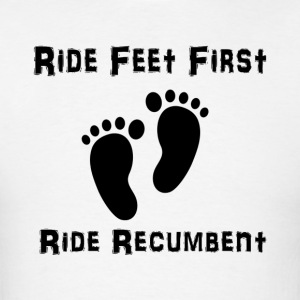 Feet First T-shirt (Mens Black Ink) - Men's T-Shirt