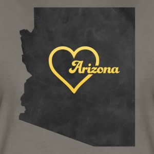 Arizona Map USA black - Women's Premium T-Shirt
