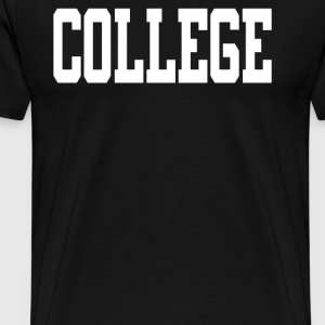College - Men's Premium T-Shirt