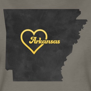 Arkansas Map USA black - Women's Premium T-Shirt