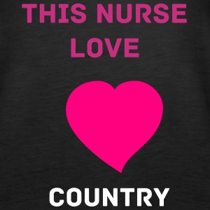 nurse love country - Women's Premium Tank Top