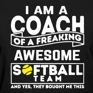 Softball Coach - Women's T-Shirt