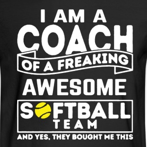 Softball Coach - Men's Long Sleeve T-Shirt