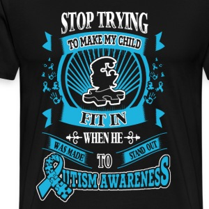 Autism Awareness Shirt - Men's Premium T-Shirt