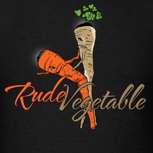 Rude Vegetable - Men's T-Shirt