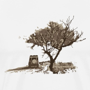 Land Rover Defender Tree - Men's Premium T-Shirt