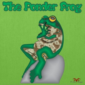 THE PONDER FROG - Tote Bag