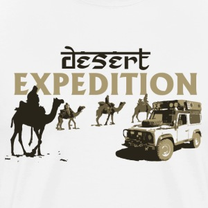 Desert Expedition Land Rover Defender - Men's Premium T-Shirt