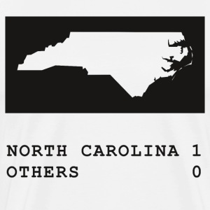 North Carolina wins - Men's Premium T-Shirt